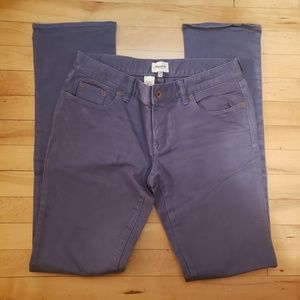 NWOT Madewell Rail Straight Jeans dusty blue sz29